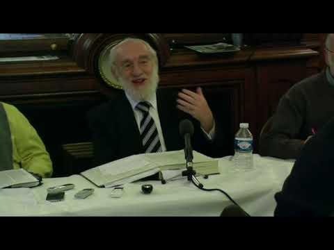 Cours du Grand Rabbin de Paris Michel Gugenheim du 9 décembre 2012