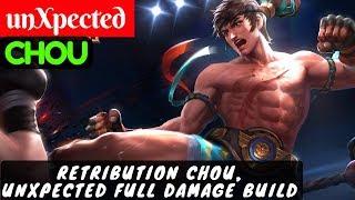Retribution Chou, unXpected Full Damage Build [Chou unXpected] | unXpected Chou Gameplay