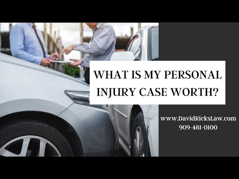 How much is my personal injury case worth? How much money will I receive for my injuries?