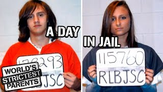 Teens Experience Life in a Juvenile Detention Facility | World's Strictest Parents