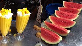 Fruit Ninja of India | Mind Blowing Fruit Cutting Skills | Indian Street Food