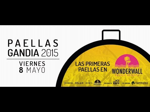 Vídeo-Promo Paellas Gandia 2015 - Wonderwall