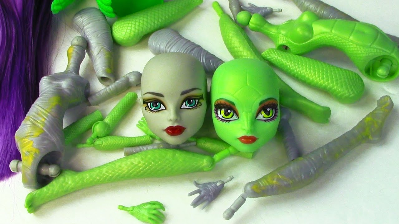 Create A Monster High Mummy Amp Gorgon Girls Doll Starter
