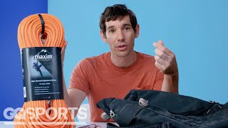 10 Things Alex Honnold Can't Live Without | GQ Sports