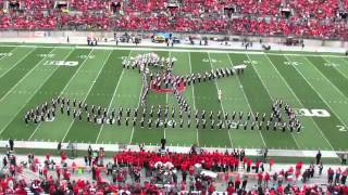 Ohio State Marching Band tribute Michael Jackson