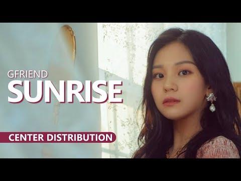 GFRIEND 여자친구 - SUNRISE 해야   Center Distribution