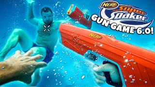 NERF GUN GAME | SUPER SOAKER EDITION 6.0 (Nerf First Person Shooter)