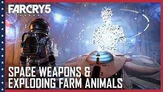 Far Cry 5 - Space Weapons and Exploding Farm Animals