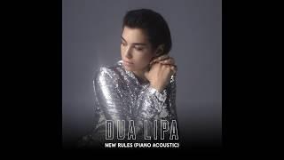 Dua Lipa - New Rules (Piano Acoustic)