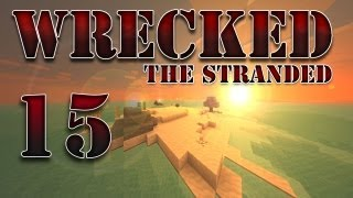 "Minecraft - ""Wrecked - The Stranded"" Part 15: Cave Spider Returns"