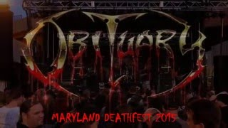 OBITUARY - Maryland Deathfest 2015 Full Concert (CamMix)