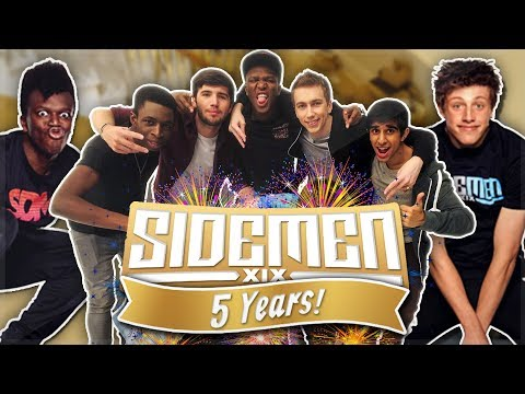 THE GREATEST SIDEMEN MOMENTS OF ALL TIME! (#Sidemen5Years)