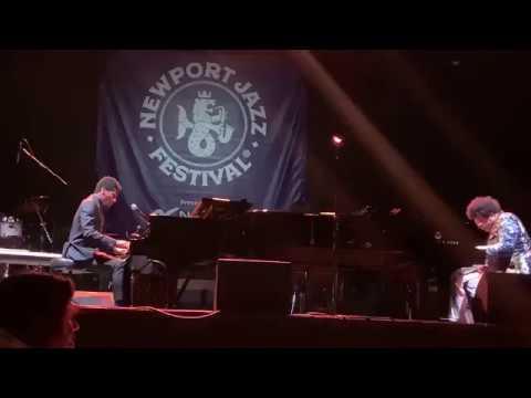 Jon Batiste x Elew LIVE @Newport Jazz Festival 2019 Tennis Hall of Fame