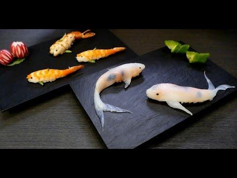 Koi fish sushi コイ寿司