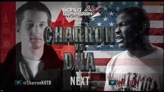 KOTD - Rap Battle - Charron vs DNA | #WD4