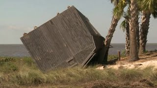 Apalachicola's St. George Island residents face destruction