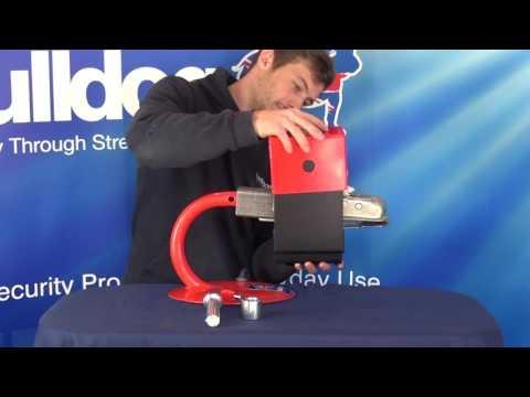 BULLDOG SECURITY Minilock Hitchlock for Al-Ko AK7 Coupling Head (LW)