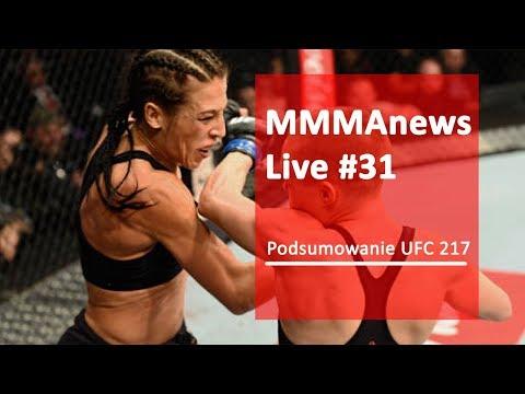 MMAnews Live #31 – Podsumowanie UFC 217 na żywo o 21:00