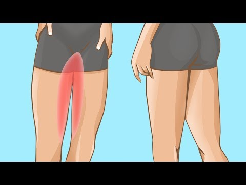 How To Lose Thigh Fat - 4 Part Workout To Burn Thigh Fat