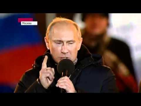 Vladimir Putin plače od sreće dok drži govor