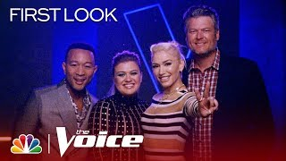 Season 17: First Look - The Voice 2019