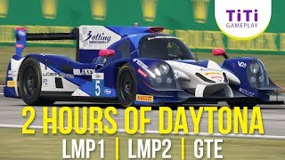 [Live Race] 2 Hours of Daytona - LMP2 Onboard