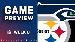 Seattle Seahawks vs. Pittsburgh Steelers | Week 6 NFL Game Preview