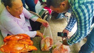 Chân dung đại gia Bình Dương chi 4 triệu mua cua ủng hộ Mâm Cua Dì 3   street food of saigon