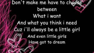 Hannah Montana - Don't Wanna Be Torn (Lyrics in video)