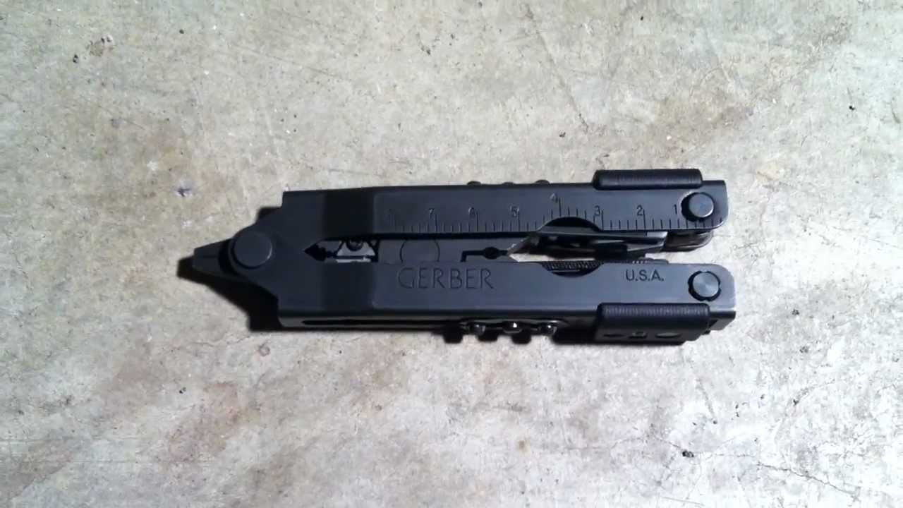 Gerber Mp600 Military Issue Multi Tool Review Youtube