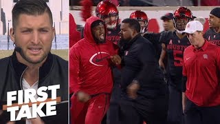 Tim Tebow: Houston's Ed Oliver and Major Applewhite were both wrong | First Take