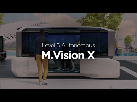 Hyundai Mobis unveils M.Vision X, future PBV (Purpose Built Vehicle) on full autonomous driving at IAA Mobility 2021