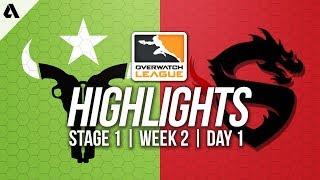 Houston Outlaws vs Shanghai Dragons ft Jake LiNkzr | Overwatch League Highlights OWL Week 2 Day 1