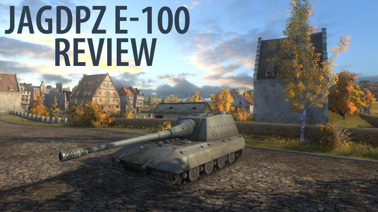 JagdPanzer E-100 - детальный обзор