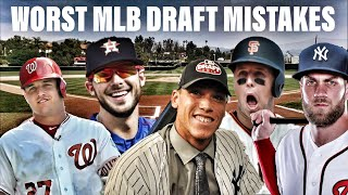 The 7 WORST Misses In The Last 10 MLB Drafts