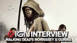 The Walking Dead - David Morrissey and Danai Gurira Interview - NYCC 2012