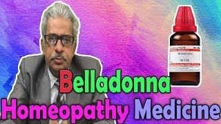 Homeopathy Medicine - Belladonna -- Dr P.S. Tiwari