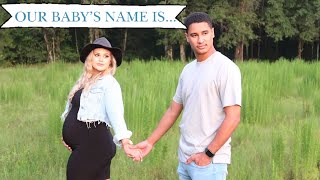 BABY NAME REVEAL | HER NAME IS...