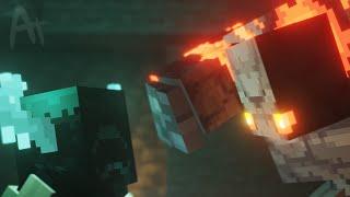 Warden Vs Redstone Golem [Minecraft Animation]