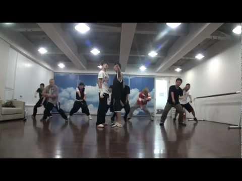 東方神起 TVXQ DBSK -' WHY ' Choreography Practice