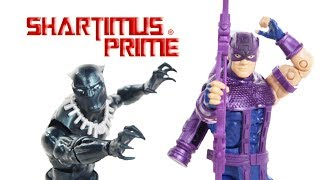 Marvel Legends Black Panther and Hawkeye Vintage Collection Wave 2 Comic Action Figure Toy Review