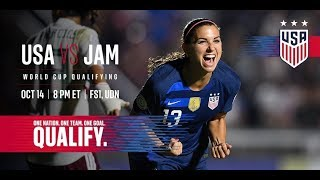 USA vs Jamaica - USWNT World Cup Qualifier