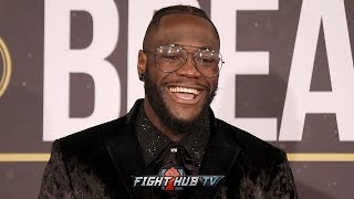 DEONTAY WILDER VS. DOMINIC BREAZEALE - THE FULL POST FIGHT PRESS CONFERENCE VIDEO