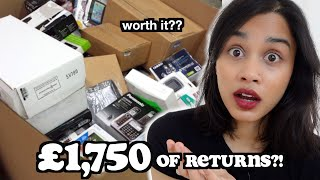 i bought a CUSTOMER RETURNS PALLET and this is what happened.. | clickfortaz