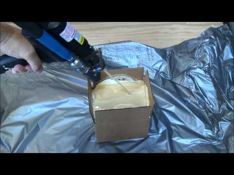 Custom Foam Boxes Instapak Foam Demonstration Sealed Air