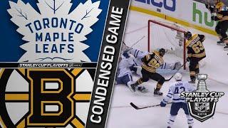 04/25/18 First Round, Gm7: Maple Leafs @ Bruins