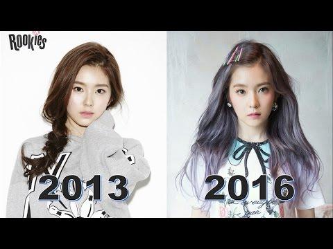 Red Velvet Irene Evolution (2013-2016)