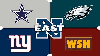 NFL Team Previews: *UPDATED* NFC East