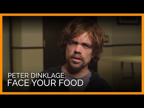 Peter Dinklage: Face Your Food - YouTube
