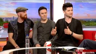 The Script Interview BBC Breakfast 2014
